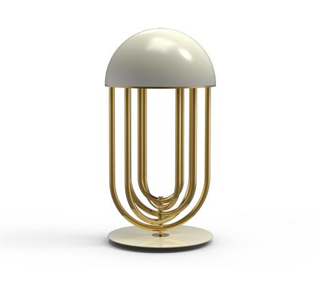 Настольный светильник копия Turner by Delightfull (белый)