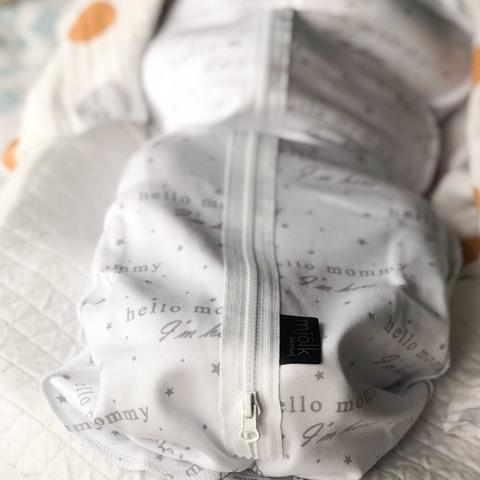 Пелёнка-кокон Mjölk Basic Hello Mommy