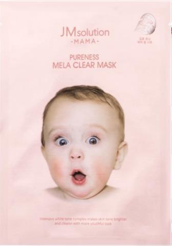JMsolution Тканевая маска, выравнивающая тон MAMA PURENESS MELA CLEAR MASK 30 м.