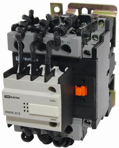 Контактор КМНК-50-230.Б 50кВАр 2НО;1НЗ TDM