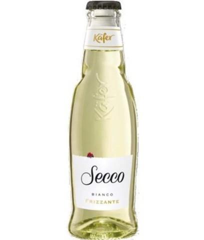 Вино Кэфер Секко Фризанте белое сухое  игристое жемчужное 0,2л