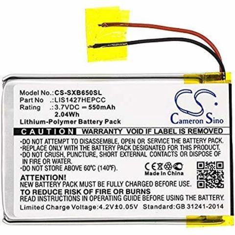 Аккумулятор для наушников Sony MDR-XB950BT, MDR-XB950B1, MDR-XB650BT