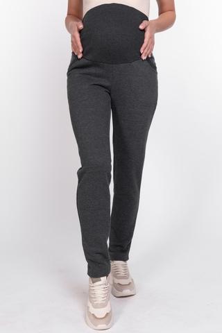 Утепленные брюки для беременных 11130 антрацит