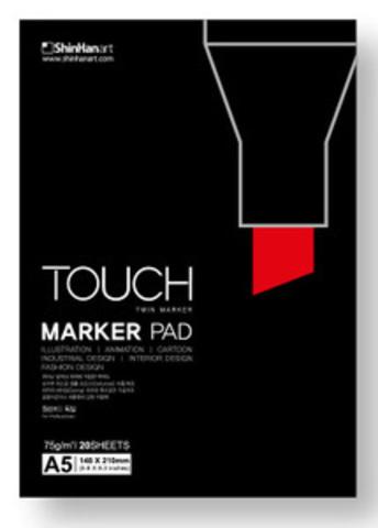 Альбом для маркеров Shinhan Art Touch Marker Pad, A5