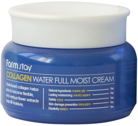 Farmstay COLLAGEN water full moist cream Увлажняющий крем с коллагеном, 100 мл Farmstay