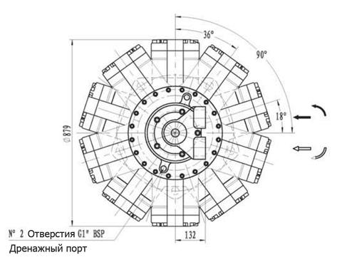 Гидромотор IPM11-10000