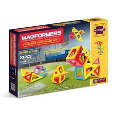 MAGFORMERS Магнитный конструктор Маленькие друзья (63143)