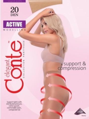 Conte Active Колготки женские 20d,  p.2 mocca