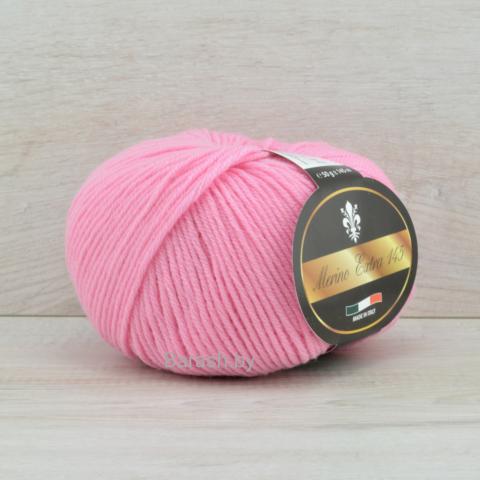 Пряжа Merino Extra 145 (Мерино экстра 145) Розовый