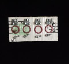 Комплект крепления 4 колес BBS для Daewoo/Opel (4 кольца/16 болтов)