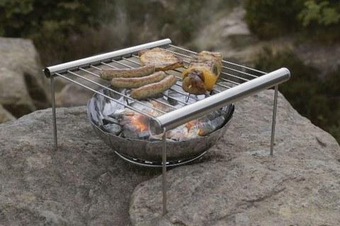 Мангал-Гриль барбекю BBQ раздвижной походный