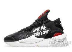 Мужские кроссовки Adidas Y3 SaiKou Black-White
