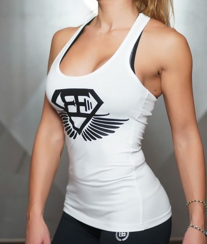 Женская майка Body Engineers ATHENA X Tank – White