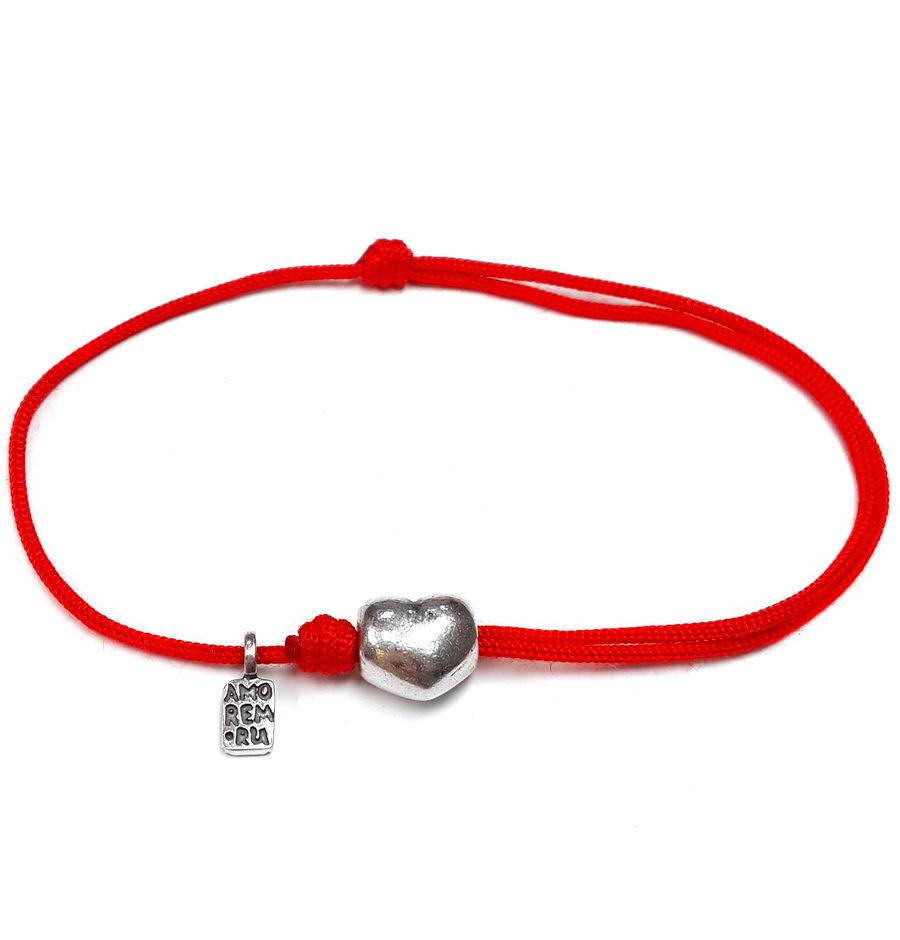 Bracelet My heart. Sterling Silver.