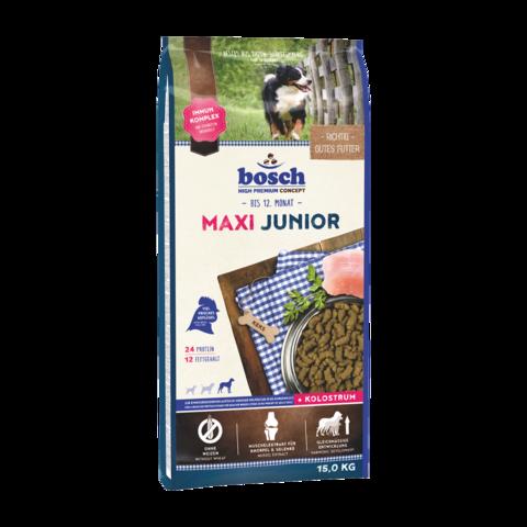 Bosch Junior Maxi Сухой корм для щенков крупных пород с домашней птицей
