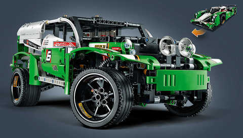 LEGO Technic: Гоночный автомобиль 42039 — 24 Hours Race Car — Лего Техник