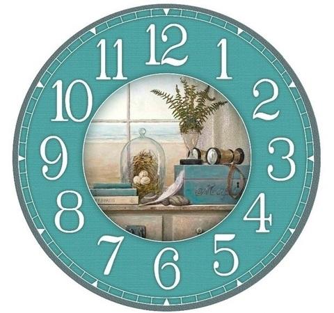 017-6804 Набор для творчества - декупаж с нуля Часы
