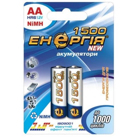 Аккумуляторы Энергия R6, AA 1500mAh