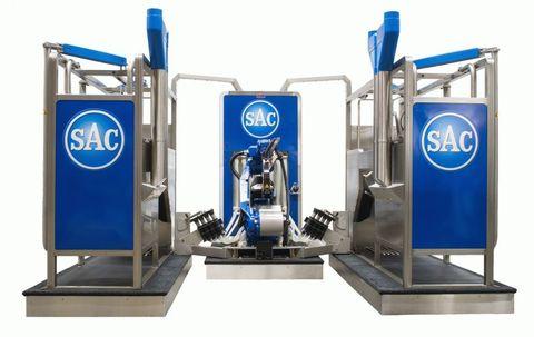 2 доильных бокса | Доильный робот SAC RDS Futureline Elite