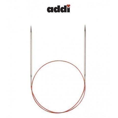 Спицы Addi круговые с удлиненным кончиком для тонкой пряжи 60 см, 4.5 мм