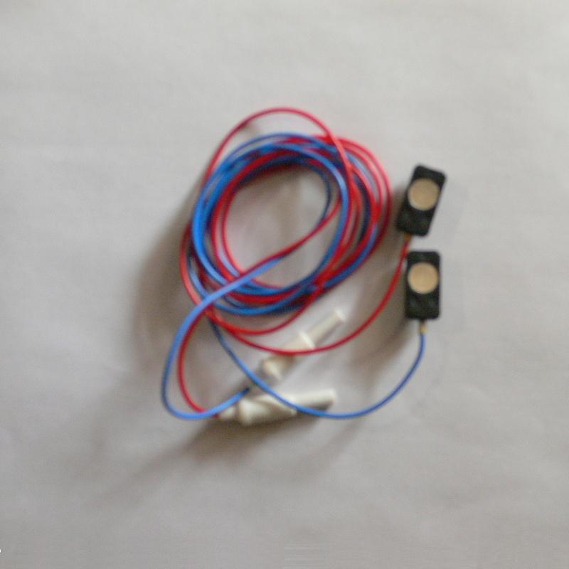 Плоский электрод для ЭЭГ с кабелем