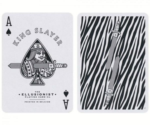 Колода Ellusionist Zebra King Slayers