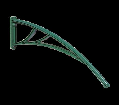 Зеленый кронштейн для козырька Кровент