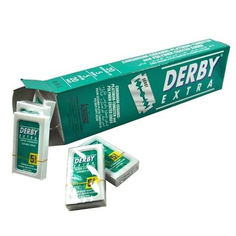 Блок лезвий Derby Extra Double Edge Razor Blade 100 шт
