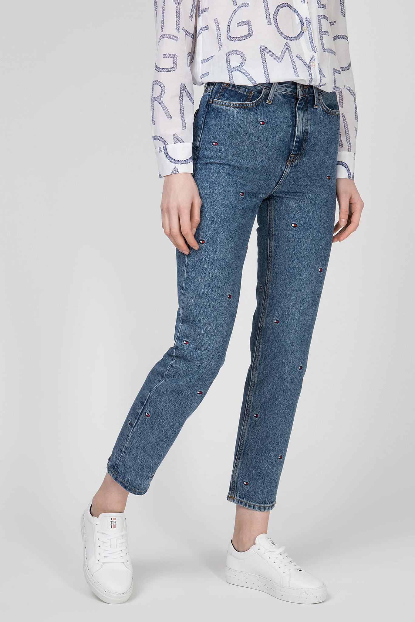 Женские синие джинсы CLASSIC STRAIGHT Tommy Hilfiger