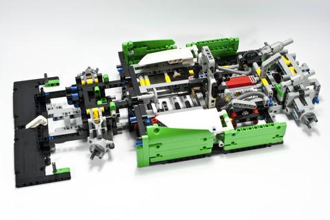 LEGO Technic: Гоночный автомобиль 42039 — 24 Hours Race Car — Лего Техник