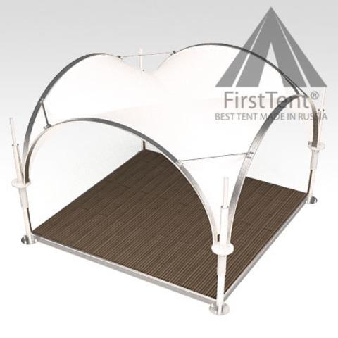 Арочный шатер 3,5х3,5