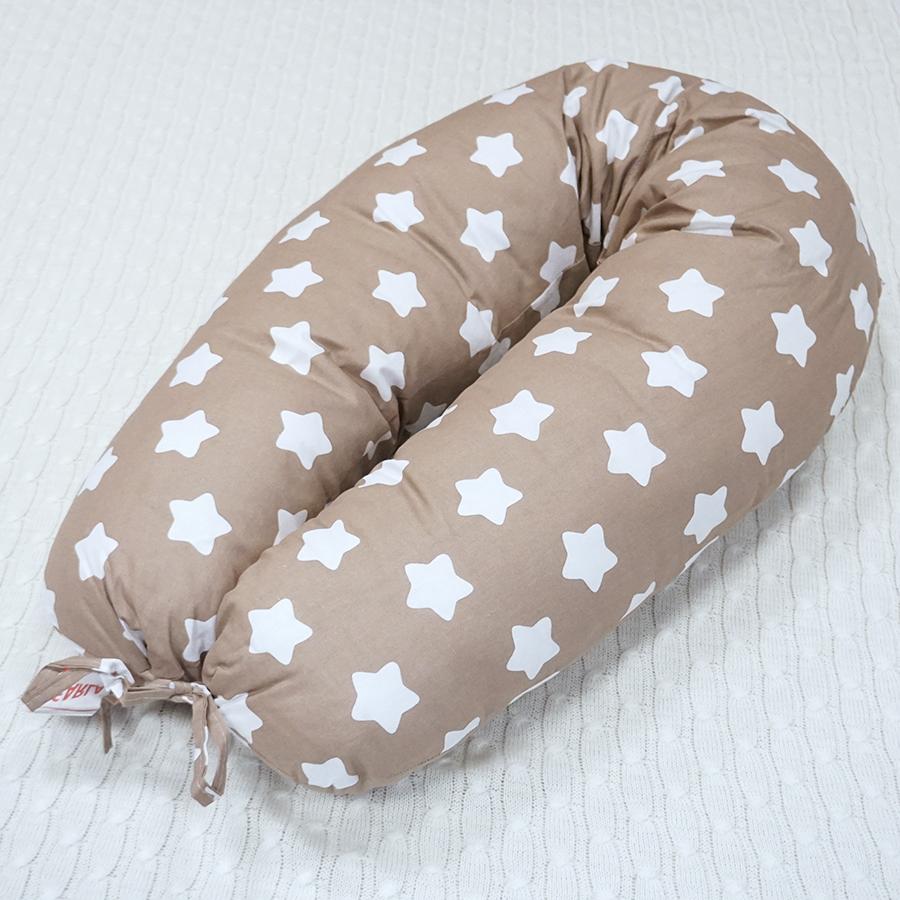 Подушки для беременных и кормящих Подушка для кормления Farla V195 Прянички с комфорелью DSC09818.png