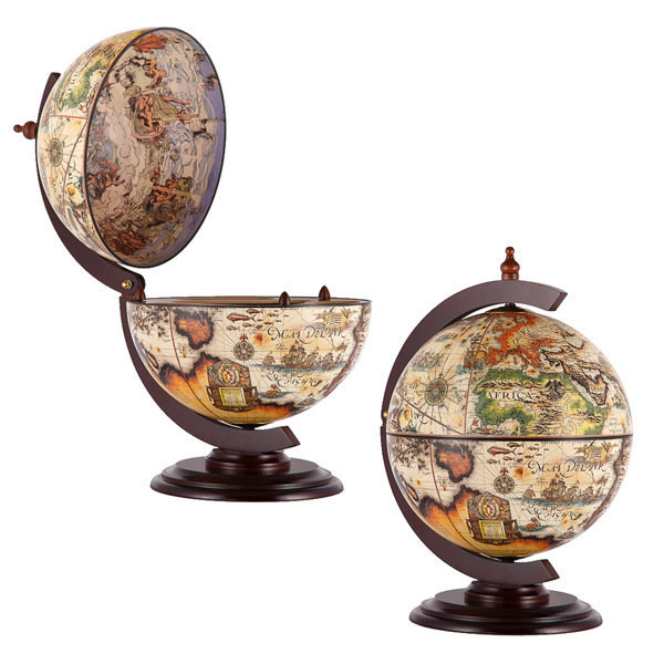 Глобус-бар настольный «Микеланджело» цена