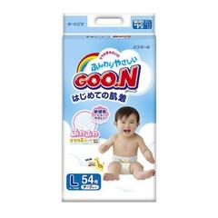 """Подгузники """"Goon"""" японские размер L (вес 9-14кг) 54шт"""