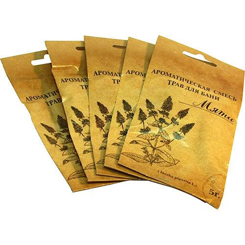 Ароматическая смесь трав для бани
