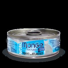 Monge Natural консервы для кошек с атлантическим тунцом 80гр