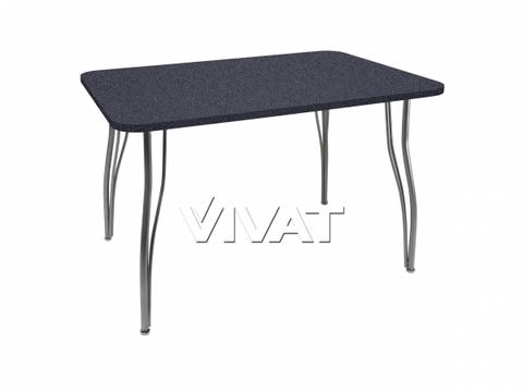 Стол обеденный прямоугольный LС (ОС-12) Черный камень