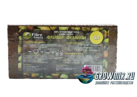 Кокосовый торф 315 гр (4л)
