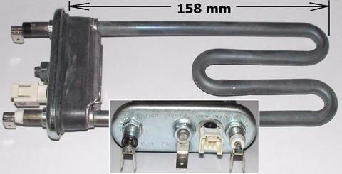 Тэн 1300W (160 mm) с датчиком 41034901, 41039780, 41041524, 41042459