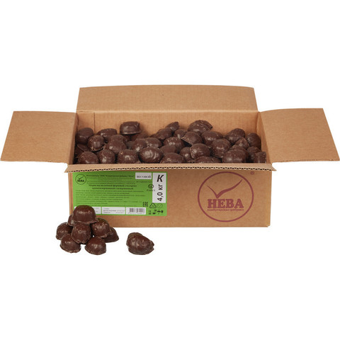 Мармелад Нева Ассорти желейный в шоколадной глазури 4 кг