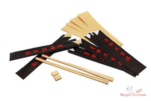 Фокус с китайскими палочками