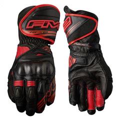 Мотоперчатки спортивные Five RFX2, чёрный/красный