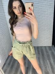женские шорты зеленые интернет магазин