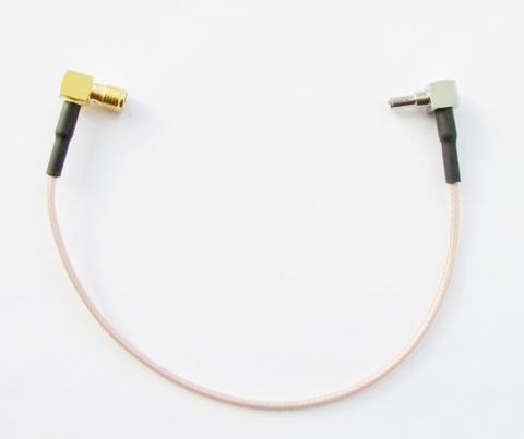 Антенный адаптер-пигтейл SMA(мама угловой)/CRC9