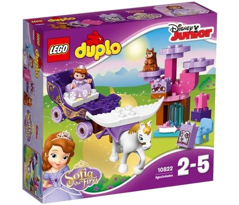 LEGO Duplo: Волшебная карета Софии Прекрасной 10822 — Sofia the First Magical Carriage — Лего Дупло