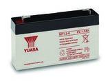 Аккумулятор YUASA NP 1,2-6 ( 6V 1,2Ah / 6В 1,2Ач ) - фотография