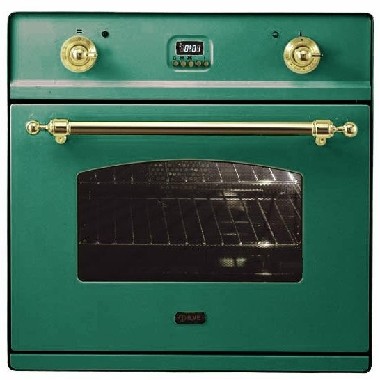 Электрический независимый духовой шкаф ILVE 600 CMP VS изумрудный зелёный
