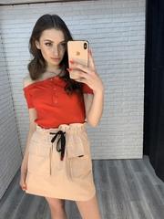 розовая юбка резинка интернет магазин