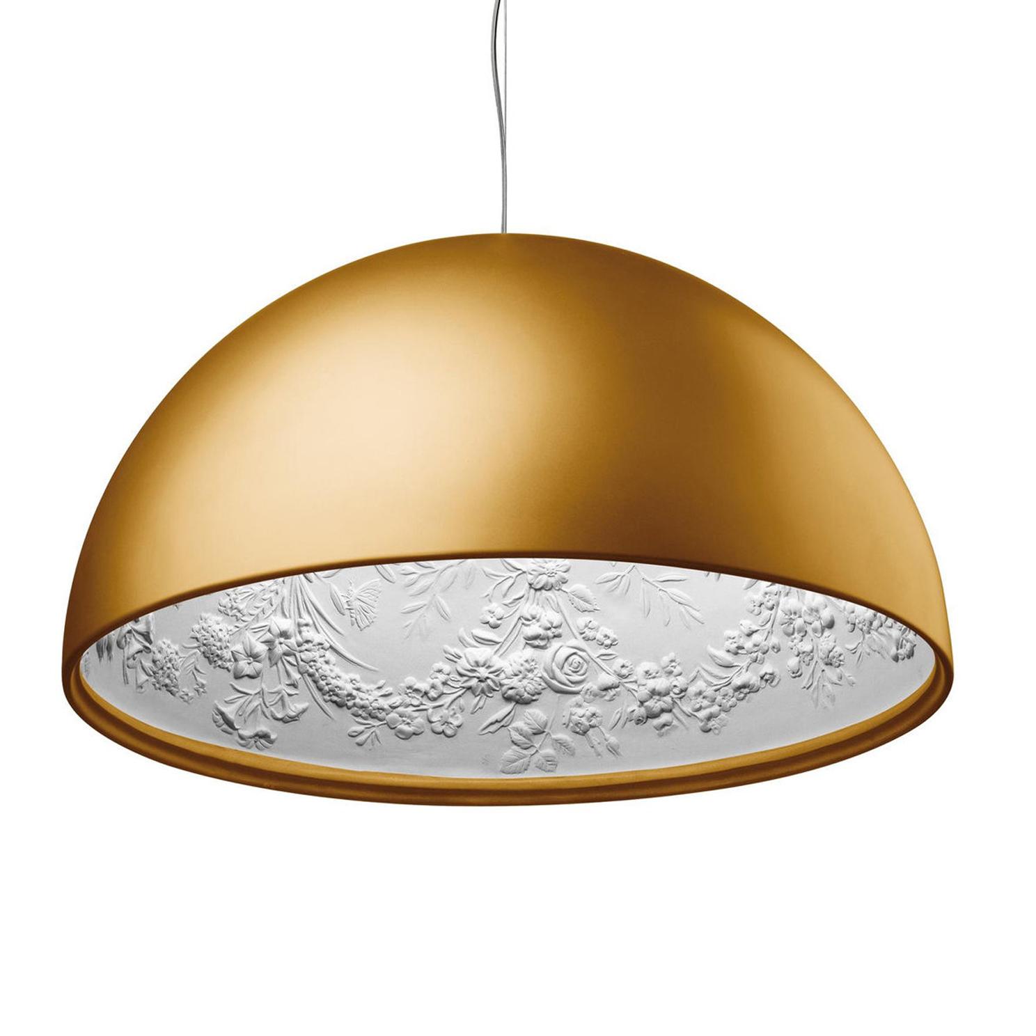Подвесной светильник копия Skygarden by Flos D90 (золотой)