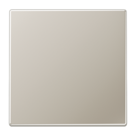 Выключатель одноклавишный. 10 A / 250 B ~. Цвет Нержавеющая сталь. JUNG LS. 501U+ES2990